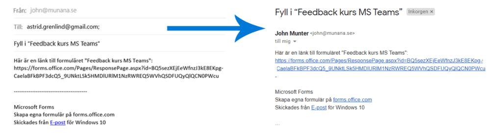 Microsoft Forms är en mycket bra app där enkelt kan skapa formulär för undersökningar, enkäter och omröstningar.