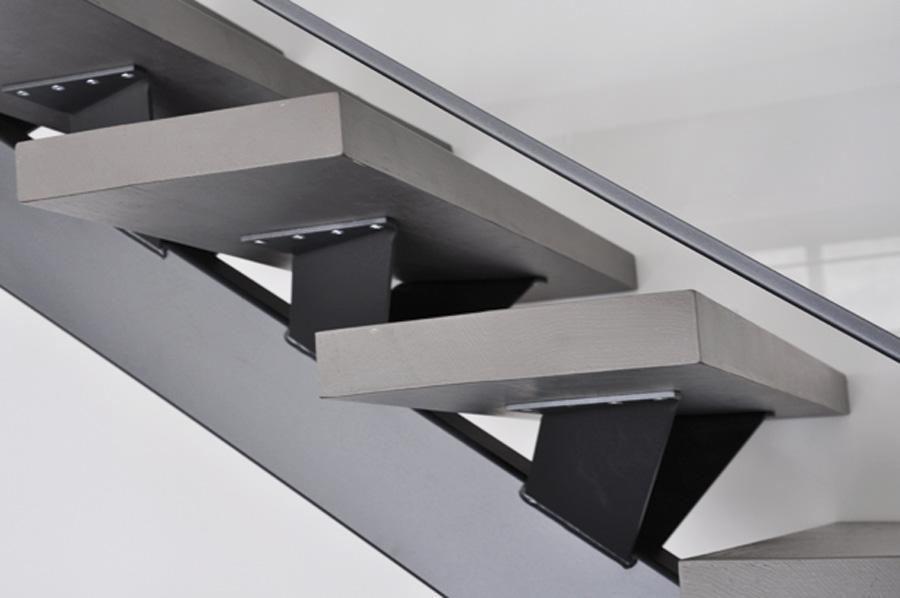 Fabriquer Escalier Bois Limon Central  Designmore