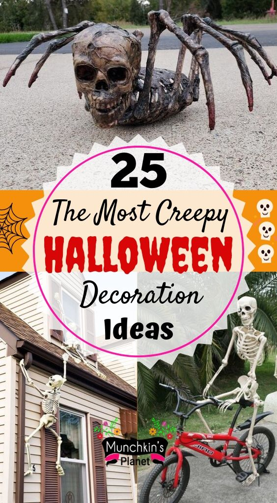 25 The Most Creepy Halloween Decoration For Front Yard Munchkins Planet