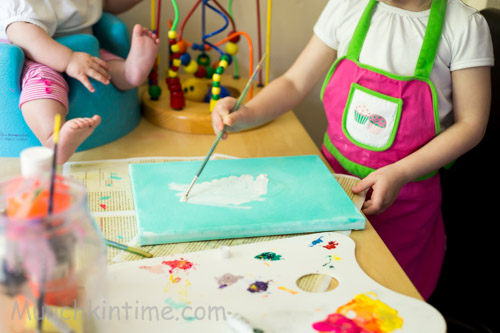 Father's Day Gift Craft Idea for 3 Year Old #kidscraft #fathersday