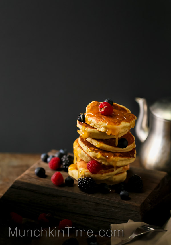 Wake Up To A Better Breakfast With A Quick Kefir Pancakes by Love Keil -- www.munchkintime.com #pancakesrecipe