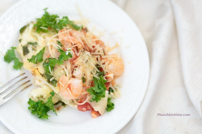 Easy Delicious Angel Hair Shrimp Bake