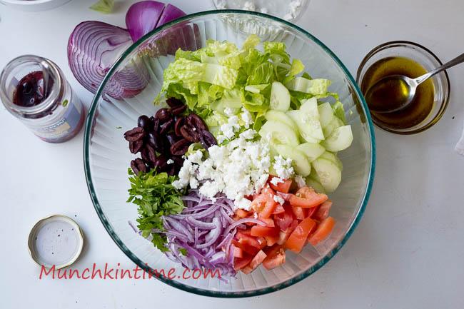 Crazy Delicious Greek Salad