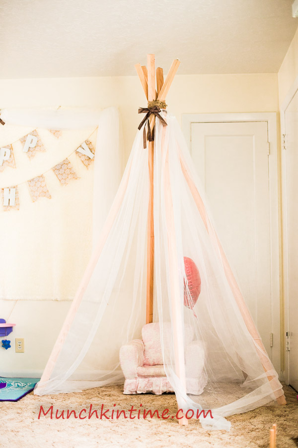 How to make No Sew Teepee  Easy DIY Video Tutorial