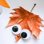Super Cute Leaf Craft for Kids