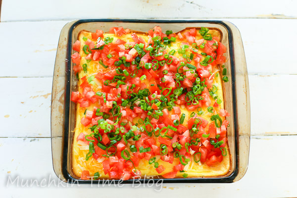 Must Try Hashbrown Ham and Cheese Breakfast Casserole by  Munchkintime-- - www.munchkintime.com #breakfastcasserole #brunchrecipe