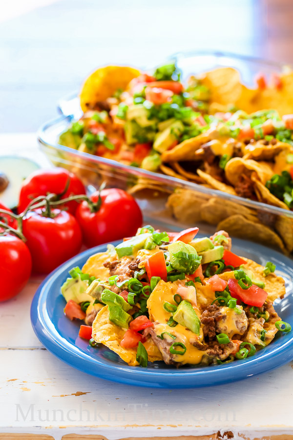 Nachos Madness Recipe Just 8 Ingredients by Munchkintime-- - www.munchkintime.com #nachos #nachosrecipe-25