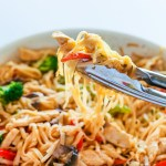 30-Minute Rice Noodle Chicken Stir Fry Recipe