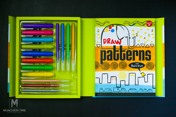 Kids Drawing Kit - Shapes Colors and Patterns from Timberdoodle.