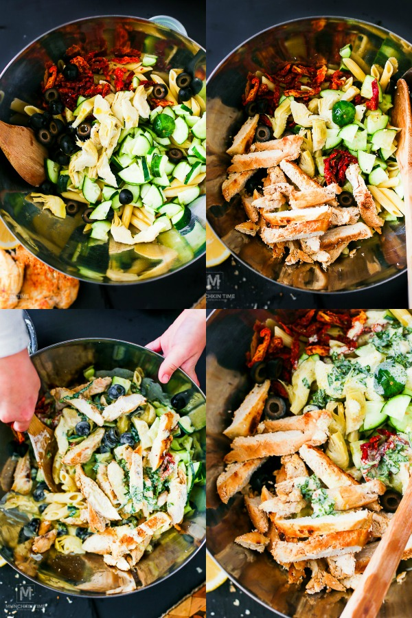 Italian Pasta Salad Recipe is what Taste of Italy is all about. #tasteofItaly