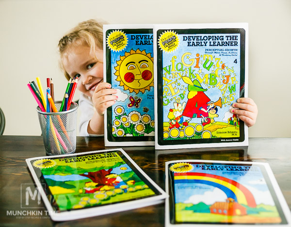 Developing the Early Learner Preschool Workbooks Timberdoodle Review