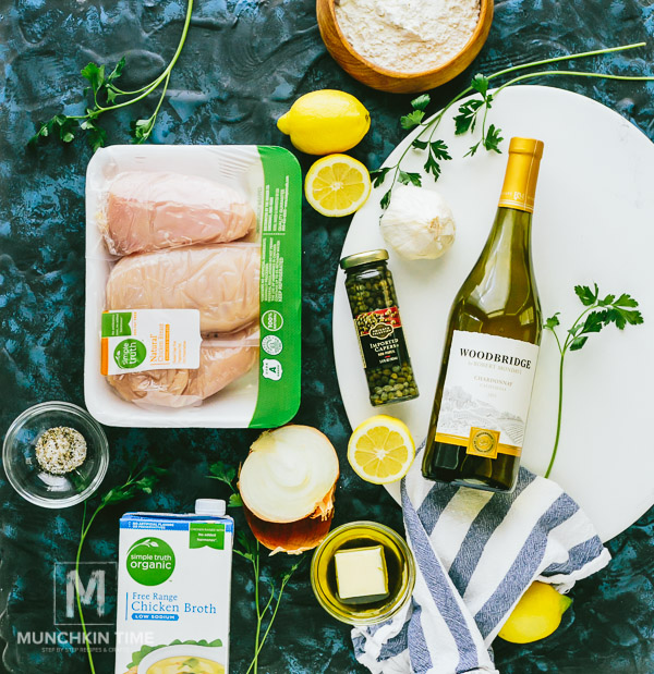 35 Minute Chicken Piccata Recipe Munchkin Time