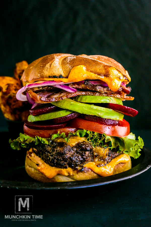 Best Hamburger Recipe - homemade patties filled with cheddar cheese and grilled on a high heat, followed by more cheese on top. It is so GOOD!!! Its like an orgasm in your mouth!!!