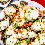 Loaded & Baked Eggplant Recipe