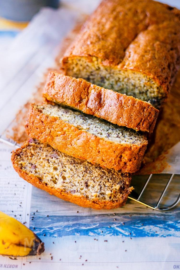 Delicious Chia Seed Banana Bread Recipe - Munchkin Time