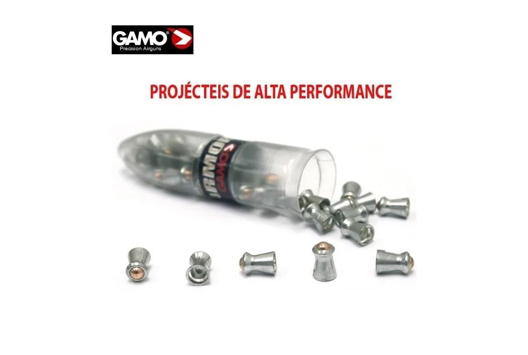 Air gun pellets Gamo PBA ARMOR 125 pcs 4,5mm (.177