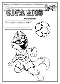 Atividades para Copa do Mundo 2018