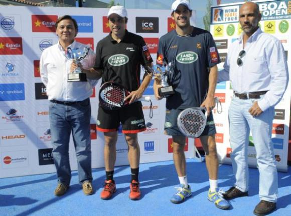 Campeones World Padel Tour Lisboa Portugal 2013