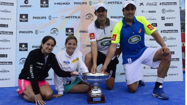 Ganadores del World Padel Tour 2014 en Barcelona