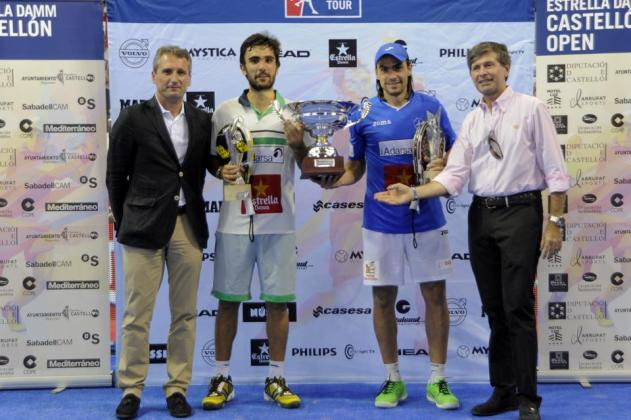 Ganadores del World Padel Tour Castellon