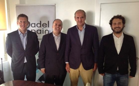 Creacion de la Comisión Española para la Industria del Pádel