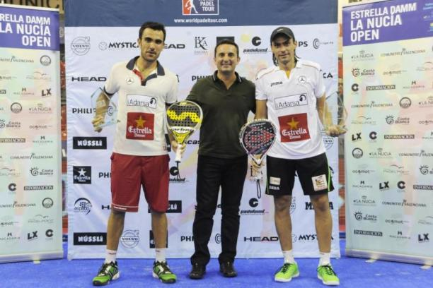 Ganadores de World Padel Tour La Nucia