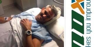 Miguel Lamperti no tiene que operarse