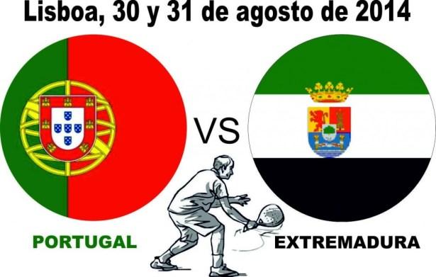 Portugal se Extremadura en la pista de pádel
