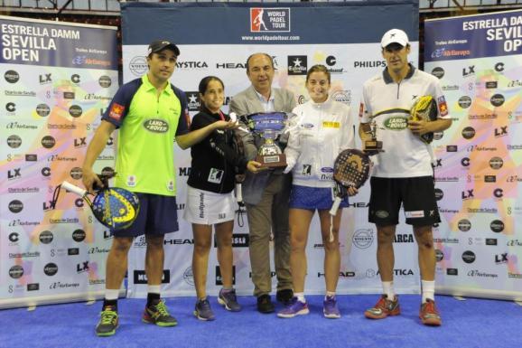 Ganadores del World Padel Tour Sevilla