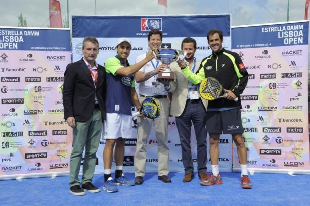 Ganadores del World Padel Tour Lisboa