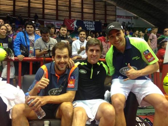 Ganadores del World Padel Tour Cordoba