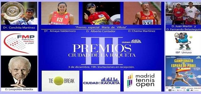 Premios Ciudad de la Raqueta