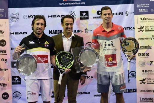 Paquito Navarro en el World Padel Tour