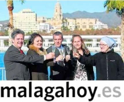 Carolina Navarro premiada por Malaga Hoy