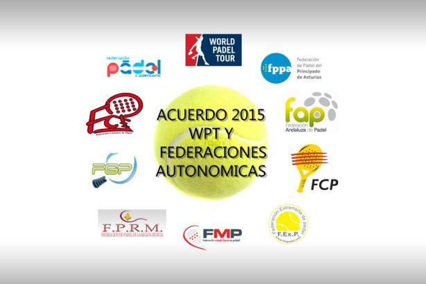 Acuerdo del World Padel Tour y las Federaciones Autonomicas