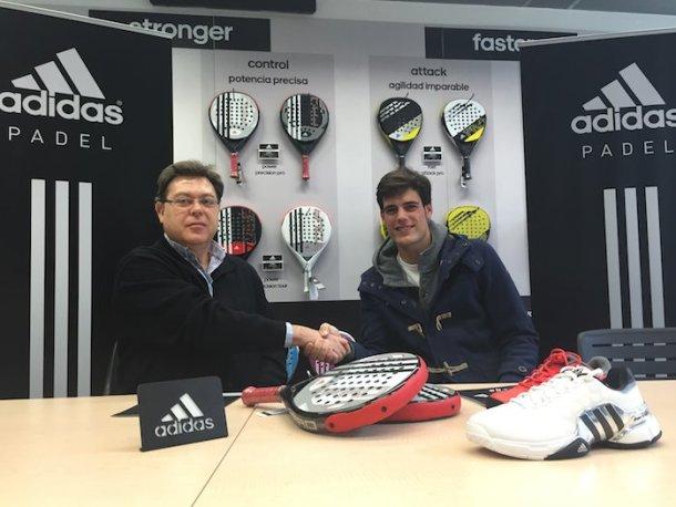 Javier Concepcion ficha por Adidas Padel