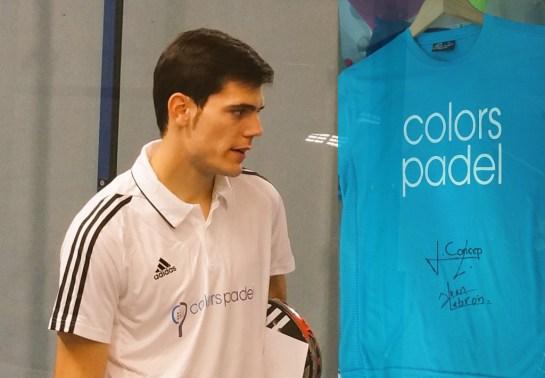 Camiseta firmada de Javier Concepción