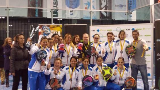 Chicas ganadoras Campeonato de España