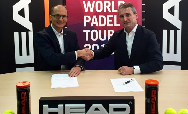Acuerdo entre HEAD y World Padel Tour