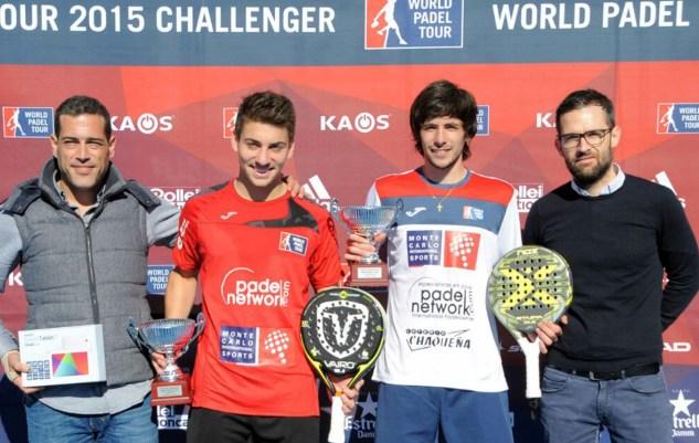 Ganadores World Padel Touor 2015 Barcelona Challenger