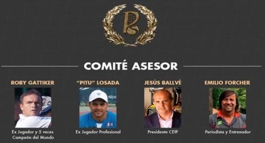 Comite asesor de PadelSpain World Padel Awards 2015