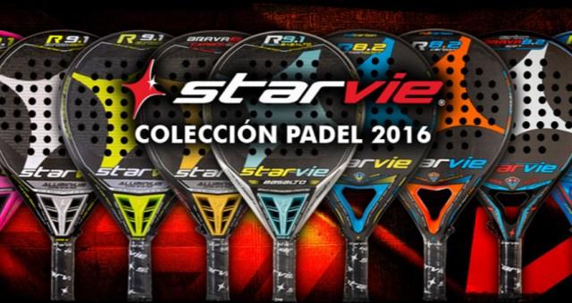 Colección palas StarVie 2016