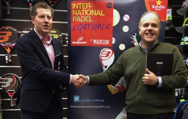 Acuerdo Bullpadel y el International Padel Experience