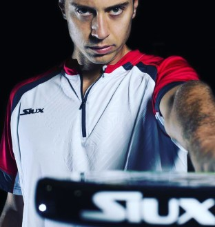 Miguel Ángel Solbes con la marca Siux