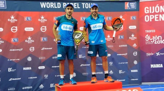 Ganadores World Padel Tour 2016 Gijón