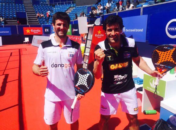 Borja Yribarren y Guga Vázquez