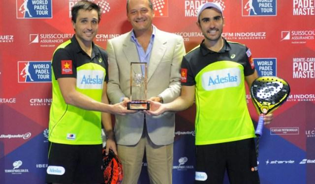 Fernando Belasteguín y Pablo Lima ganadores en Montecarlo