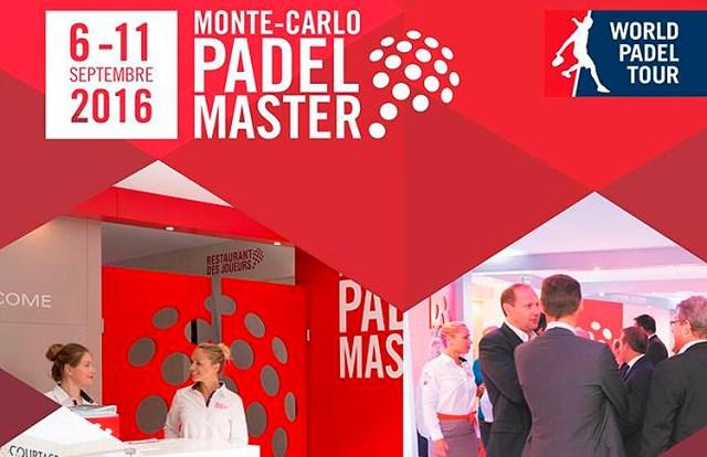 Cartel del Monte-Carlo Padel Master