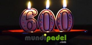 600 artículos para MundiPadel