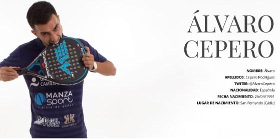 Biografía de Álvaro Cepero en su nueva página web